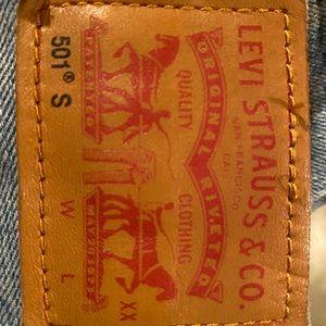 Straight Leg Levi's 501 S